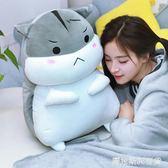 可愛倉鼠毛絨玩具暖手抱枕公仔大布娃娃睡覺玩偶女孩生日禮物  圖拉斯3C百貨