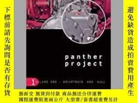二手書博民逛書店Panther罕見Project Volume 1 (Slight damage)-豹項目第一卷(輕微損壞)Y