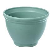 仿陶土花盆9吋(綠)