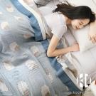 五層毛巾被純棉紗布被子單人雙人夏涼被蓋毯...