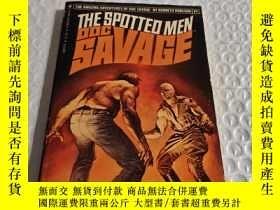 二手書博民逛書店THE罕見SPOTTED MEN--A DOC SAVAGE A