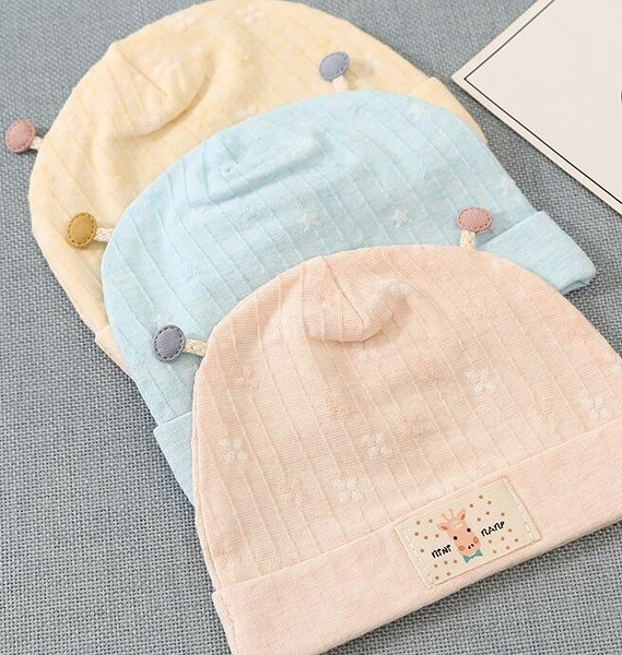 新生兒春夏季薄款嬰兒帽