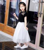 女童短裙半身裙 蓬蓬裙網紗裙