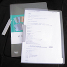 【奇奇文具】7折 HFPWP 透明斜紋文件夾 環保無毒材質 台灣製 L279
