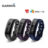 GARMIN vivosmart HR iPass 腕式心率智慧手環(黑色)
