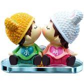 車內飾品擺件女個性創意可愛萌萌漂亮車載中控臺娃娃汽車裝飾用品