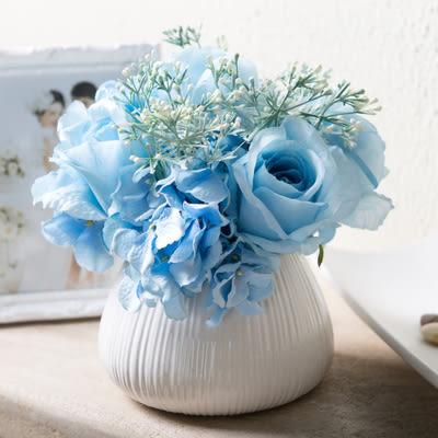 模擬花假花 套裝 花藝 客廳餐桌 裝飾花 花瓶 -bri010044