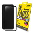 【隨盒贈背貼】hoda iPhone X  2.5D 隱形滿版 高透光 9H鋼化玻璃保護貼 鋼化玻璃貼 鋼化膜 螢幕保護貼