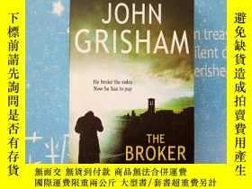 二手書博民逛書店JOHN罕見GRISHAM THE BROKER(約翰·格里森姆