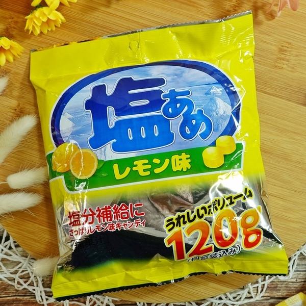 日式檸檬薄荷鹽糖 120g【4580114002467】(馬來西亞糖果)