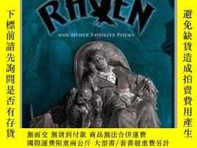 二手書博民逛書店愛倫坡:烏鴉及其他詩歌罕見英文原版 The Raven Dover Thrift Editions Edgar A