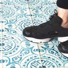 地板貼紙 地板專用獨創貼紙 復古磚紋 F...
