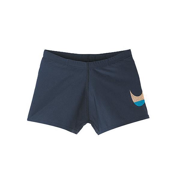 NIKE MASH UP 男孩四角泳褲 抗氯 兒童泳衣 泳裝 NESS9747 【樂買網】