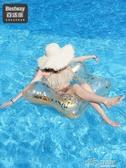 bestway游泳圈大人網紅成人女加厚大號便攜水上充氣玩具救生泳圈好樂匯