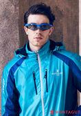 夢特嬌太陽眼鏡 專業運動款-藍框灰邊
