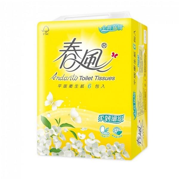 春風 平版衛生紙300張*6包*6串/箱