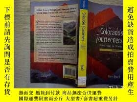 二手書博民逛書店Colorados罕見Fourteeners From Hike