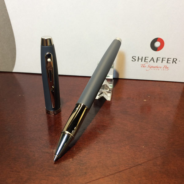 西華SHEAFFER SF-9319RB 100系列 鋼珠筆 - 灰桿
