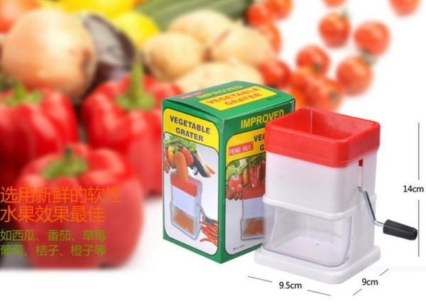 【手動絞肉機】蔬菜攪碎機 家用 簡易 多功能磨碎機 好神切 嬰兒食品調理 NF