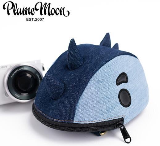 微單眼相機包 防水防震尼康富士索尼A6000單肩斜挎包卡通可愛 恐龍款斜挎 寶貝計畫