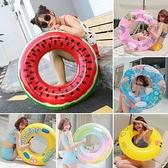 游泳圈大人兒童網紅成人寶寶嬰兒充氣救生圈加厚小孩3-6-10歲泳圈 【端午節特惠】