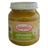 Babybio 綜合鮮蔬泥-田園130公克