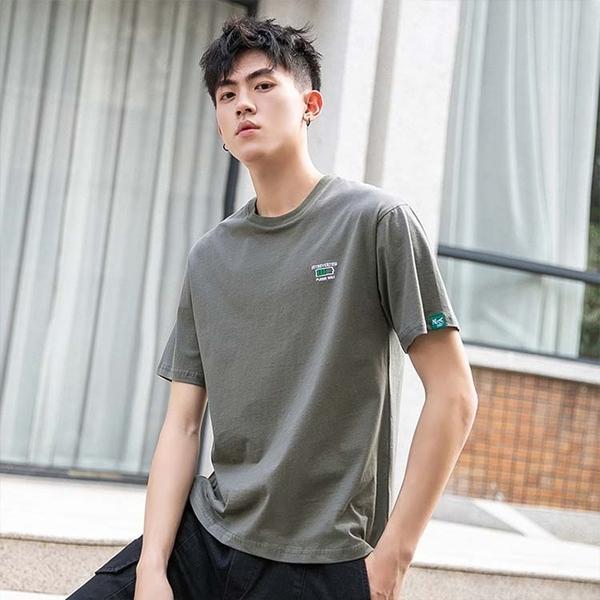 【精選新品任搭2件$499】短袖T恤純棉男款時尚潮流款T恤