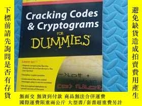 二手書博民逛書店Cracking罕見codes cryptograms for dummiesY6699