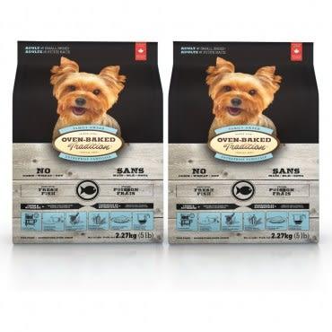 【Oven-Baked】烘焙客 成犬深海魚口味 小顆粒 5磅 X 2包