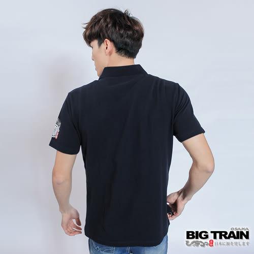 BIG TRAIN 武骨刺客POLO衫-男-深丈青