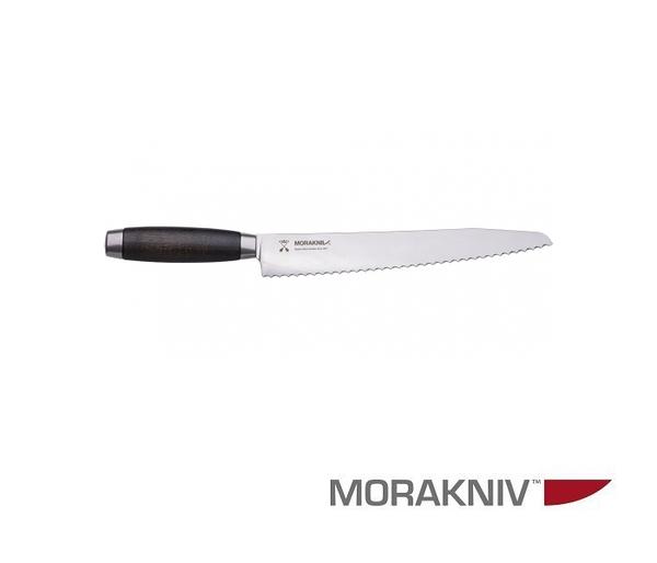丹大【MORAKNIV】瑞典 BREAD KNIFE CLASSIC 1891 經典不鏽鋼麵包刀 24CM黑 12315