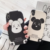 OPPO R15 夢境版手機殼R17 保護套R9s 蠶絲紋浮雕硅膠軟殼R11PLUS 女卡通熊 不會撞的r17pro 有趣亞斯藍