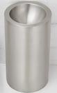 【麗室衛浴】不銹鋼桶型洗臉盆8220 一體成型 外型獨特 380*800mm