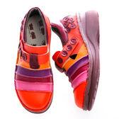 MODO鉑金款/公主鞋/舒適內裡-THE ONE 氣墊鞋 (全牛皮)-F52267 胭紅