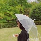 雨傘 透明雨傘長柄女自動大號雙人學生網紅s可愛車載創意加厚男小清新 新年禮物