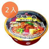 味丹 味味一品 韓式辣牛肉麵 180g (2碗)/組