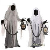 萬聖節復活節狂歡節舞臺表演魔鬼惡魔搞怪恐怖陰森幽靈服裝親子裝「時尚彩虹屋」