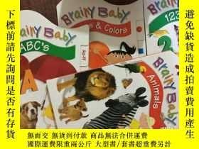 二手書博民逛書店Brainy罕見Baby ABCs animals shapes
