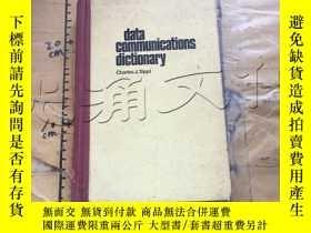 二手書博民逛書店Data罕見communications dictionaryY