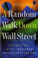 二手書《A Random Walk Down Wall Street: Including a Life-cycle Guide to Personal Investing》 R2Y ISBN:0393315290