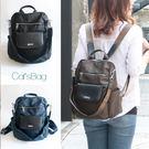 韓國設計高質感二用設計防潑水後背包-Ca...