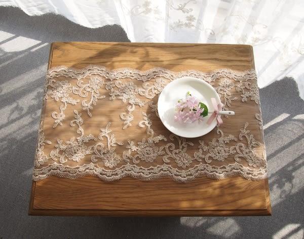 時尚可愛空間餐桌布 茶几布 隔熱墊 鍋墊 杯墊 餐桌巾582 (26*50cm)