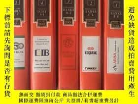 二手書博民逛書店THE罕見BANKERS ALMANAC JANUARY 200