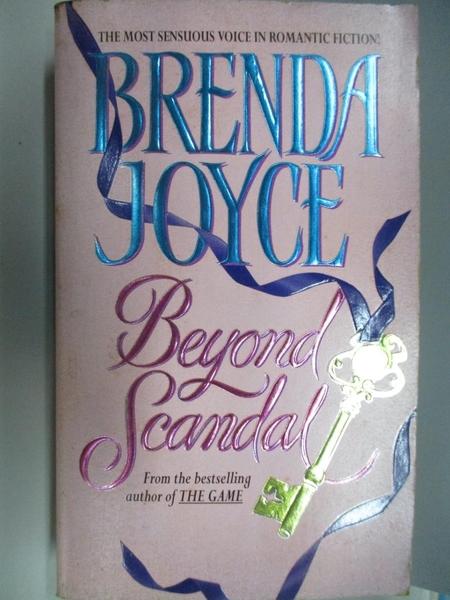 【書寶二手書T8/原文小說_AC5】Beyond Scandal_Brenda Joyce