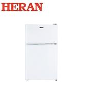 【禾聯HERAN】HRE-B1013 100L雙門電冰箱