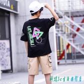 童裝男童短袖t恤棉質2020新款夏裝兒童寬鬆洋氣中大童韓版上衣潮 OO9705『科炫3C』