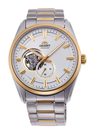 [Y21潮流精品] 新款!ORIENT 東方錶 SEMI-SKELETON系列 機械錶 鋼帶款 金色-40.8mm RA-AR0001S