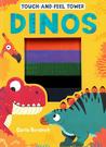 【恐龍】DINOS/TOUCH & FEEL TOWER/觸摸遊戲書《主題:動物.紋路》
