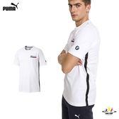 Puma BMW Life 白 男 短袖 上衣 短T 棉T 短袖 衛衣 運動 休閒 上衣 57778102