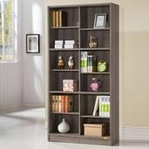 康迪仕十二格書櫃 深木色款 採E1板材